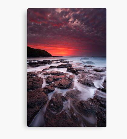 The Flinders Blowhole Canvas Print