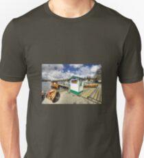 Rowing Boats at Ambleside  T-Shirt