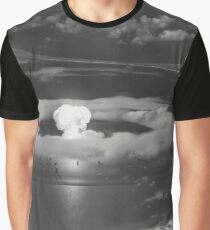 Mushroom Cloud Operation Crossroads Nuclear Weapons Test (July 1946) Graphic T-Shirt