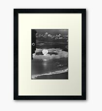 Mushroom Cloud Operation Crossroads Nuclear Weapons Test (July 1946) Framed Print