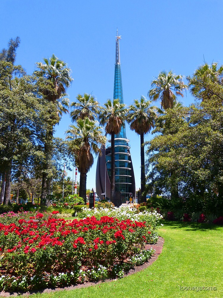 The Bell Tower, Perth from Stirling Garden by looneyatoms