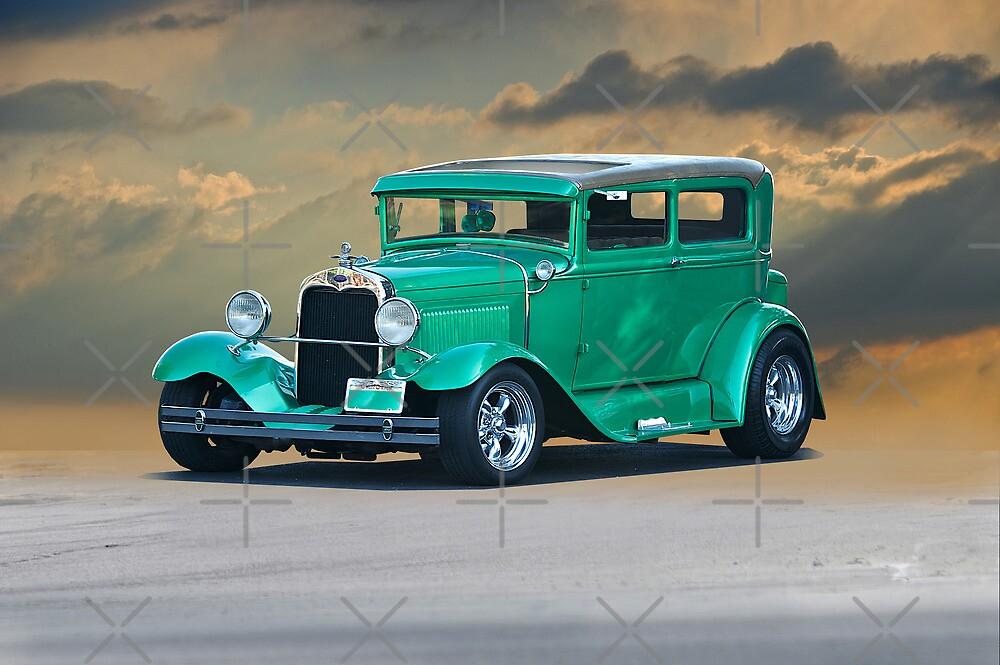1928 Ford Model A Sedan by DaveKoontz
