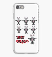 rabbit shadow iPhone Case/Skin