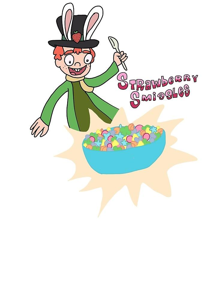 Strawberry Smiggles by grgikau