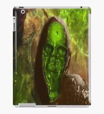 Green Glass Alien iPad Case/Skin