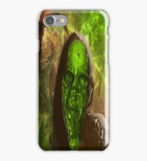 Green Glass Alien iPhone Case/Skin