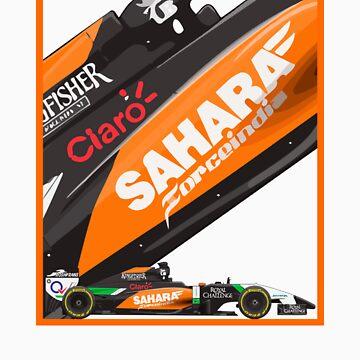 Sahara Force India 2014 by FormulaFans
