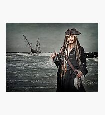 Captain Jack Saves The Rum Photographic Print