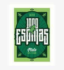 Mil Espinas Tequila | FINAL FANTASY Art Print