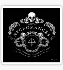 Necromancer Emblem: Ashes to ashes, dust to dust Sticker