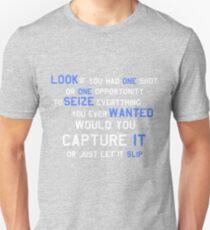 EMINEM MOTIVATIONNAL SHIRT WHITE&BLUE T-Shirt