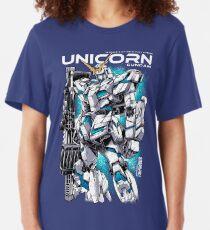 Unicorn Gundam T-Shirt Slim Fit T-Shirt