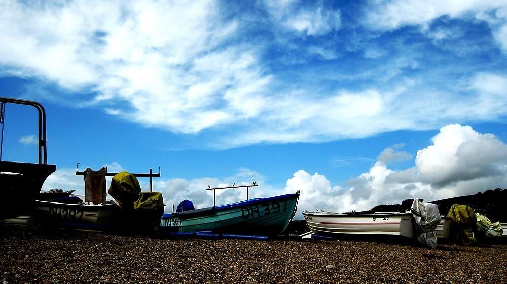 South Devon Boats I by mugs-munny