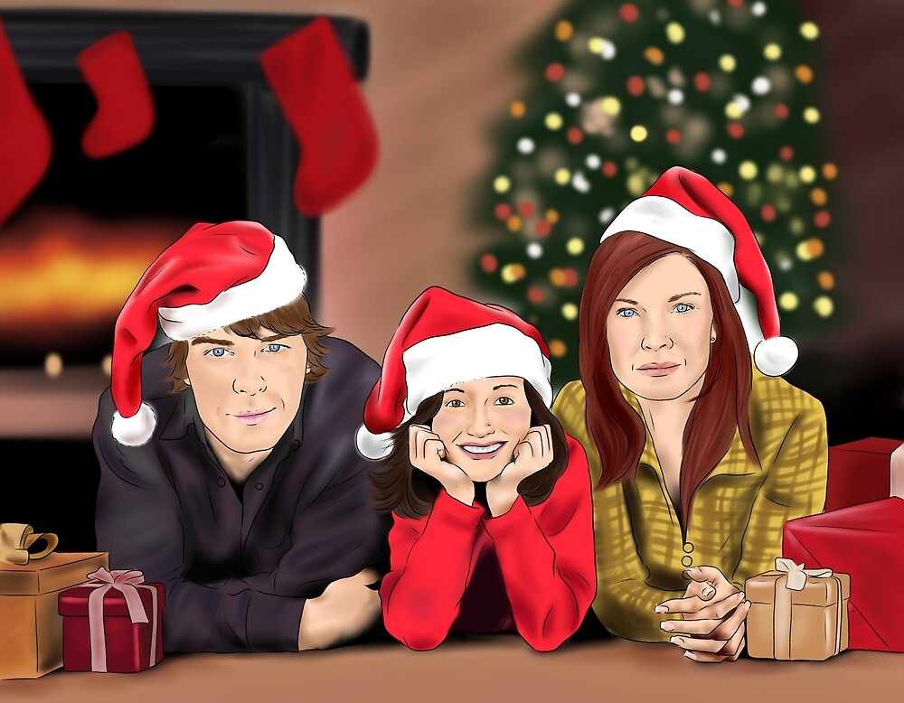 Merry Christmas - Argent Family by finduilas