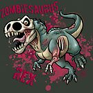 Zombiesaurus-Rex by Mariana Moreno