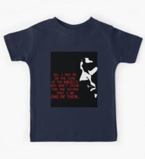 Sherlock's on the side of the Angels Kids Tee