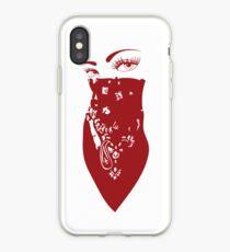 Red Bandana Girl iPhone Case