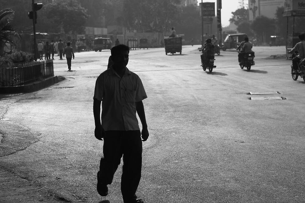 Morning Light Hyderabad 2 by Andrew  Makowiecki