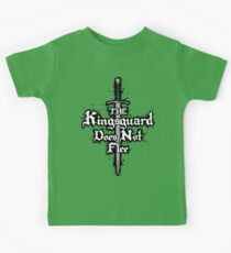 The Kingsguard Does Not Flee Kids Tee