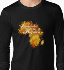 Embaixador da Kizomba Long Sleeve T-Shirt
