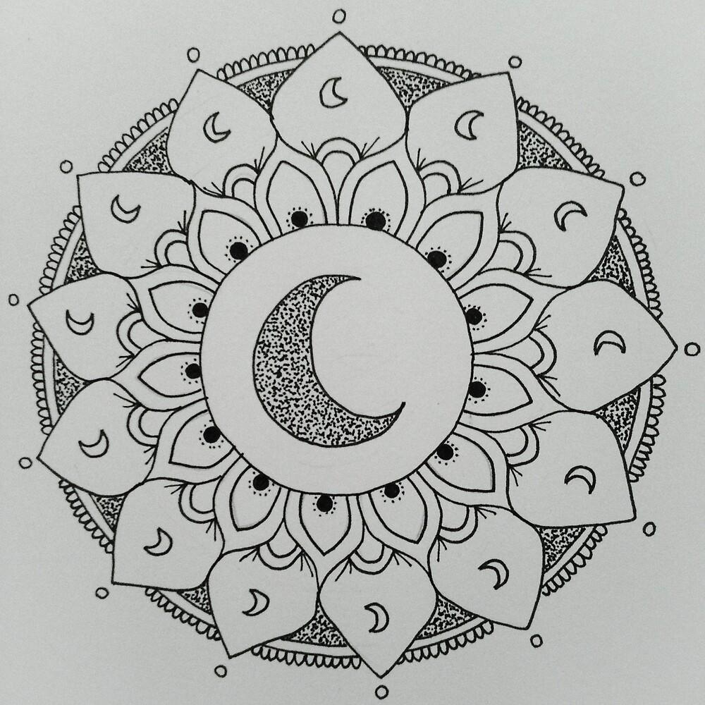 Moon Mandala by madelicious