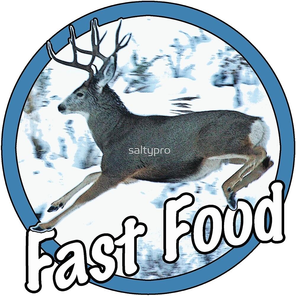Fast Food Mule Deer by saltypro