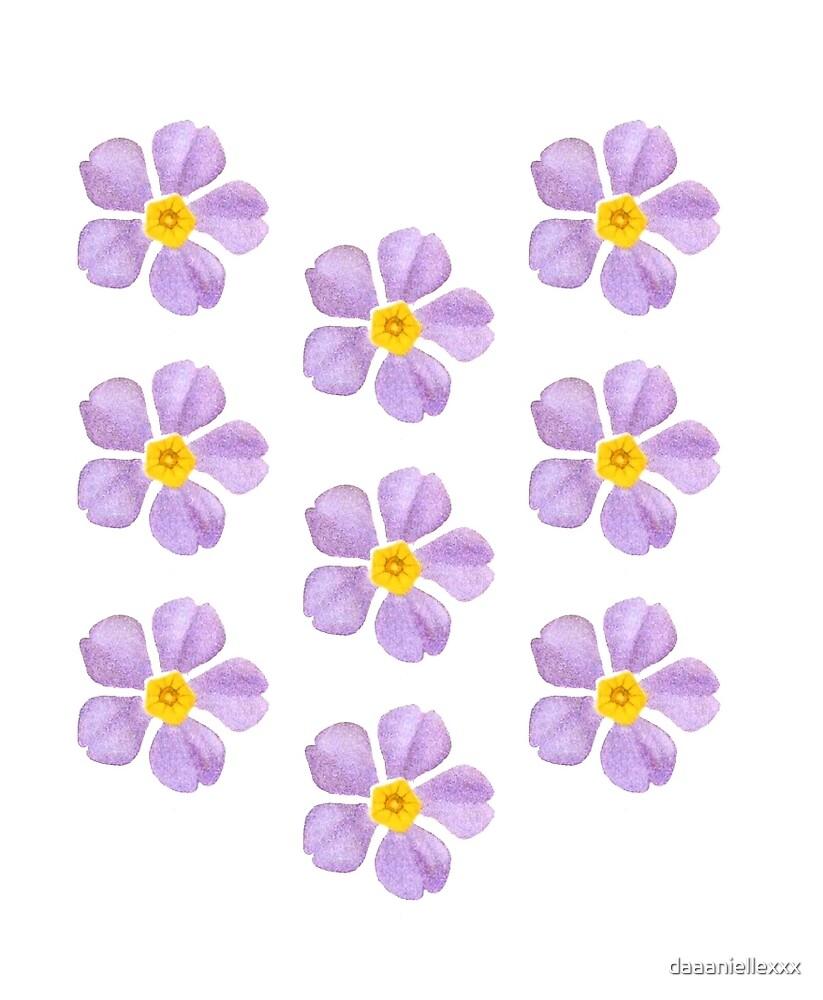Cute flower pattern by daaaniellexxx