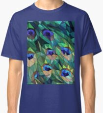 Peacock Feather Abstract Classic T-Shirt