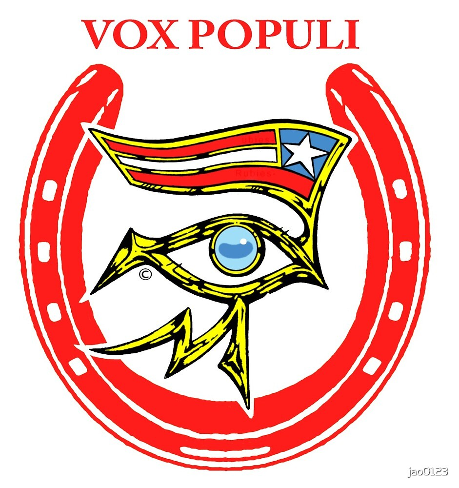 AMERICAN PHAROAH_Vox Populi_Eye of Rah by jao0123