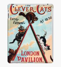 Clever Cats iPad Case/Skin