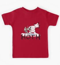 The Frozen Planet of Hoth Kids Tee
