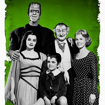 The Munsters by EllieTheZombie