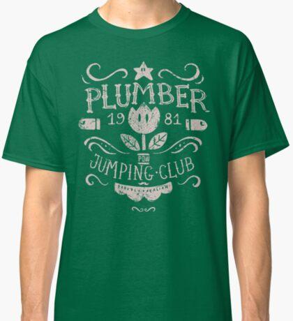 Plumber Jumping Club Classic T-Shirt