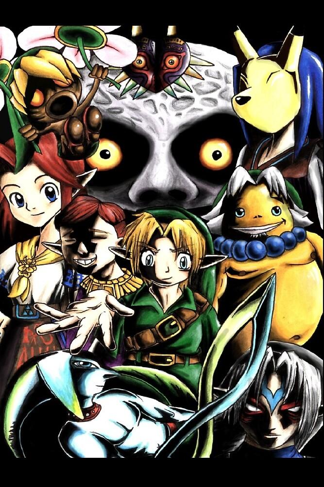 Legend of Zelda Majoras Mask Inspired Fanart by wegenaer