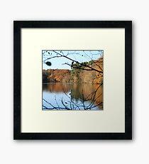 UK Autumn countryside Framed Print