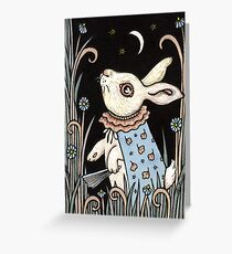 Always Late Greeting Card