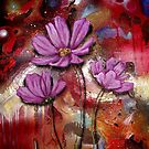 Pink Cosmos by Cherie Roe Dirksen