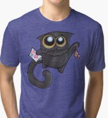 I love you, Momma-cat! Tri-blend T-Shirt