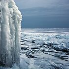 The Gray Hour - Lake Superior by Michael Treloar