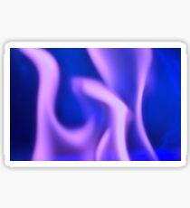 Purple Ghost Fire Sticker