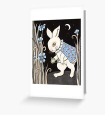 Ears and Whiskers Greeting Card