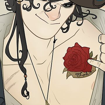 Rose Tattoo piratelock by NavyDream