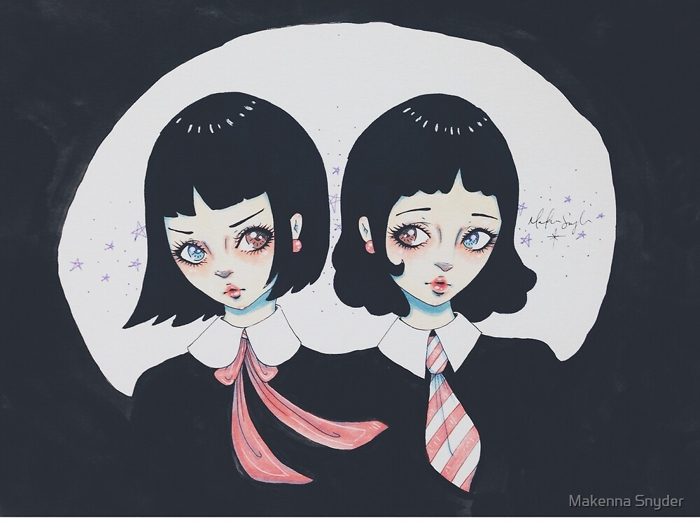 Gemini Sisters by Makenna Snyder