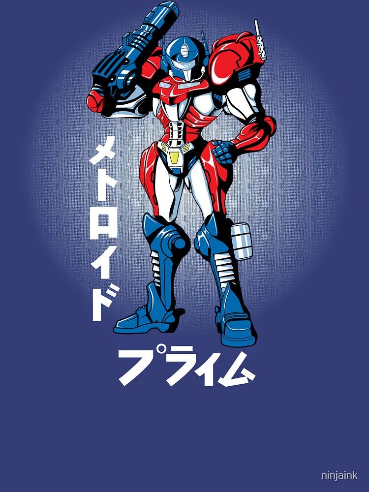 Metroid Prime by ninjaink