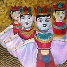 Water Puppets in Hanoi by Lyn Fabian