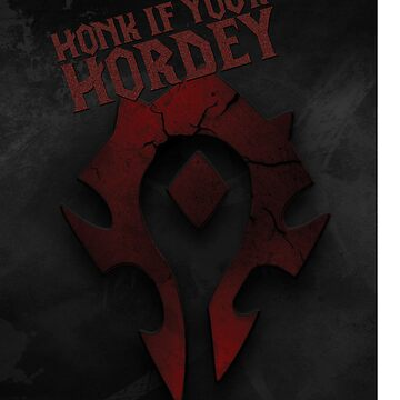 Honk if Your Hordey Phone Cover by C117Games