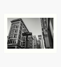Philadelphia Urban Landscape - 0980 Art Print