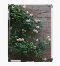 Old rose, old wall. iPad Case/Skin