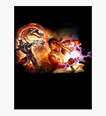 Fighting Games Collide Photographic Print