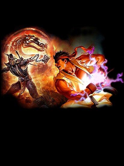 Fighting Games Collide by Demonlinks